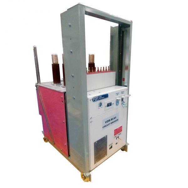 Vacuum-Oil-Replacement Magnetic Actuator (VOR-M) A4 Circuit Breaker