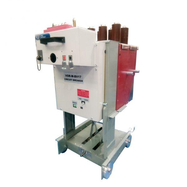 Vacuum Oil Replacement Magnetic Actuator (VOR-M) BVP Circuit Breaker