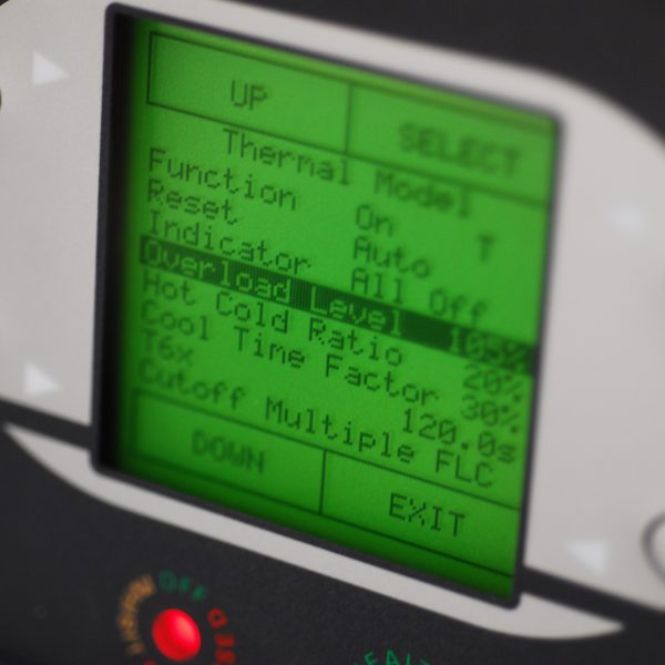 Motorvision Software on P&B Protection Relay